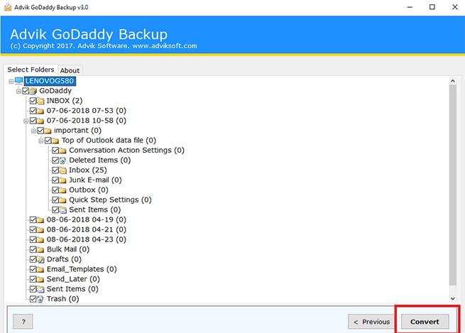 Godaddy to gmail migration