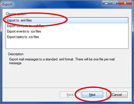 export em client to pst
