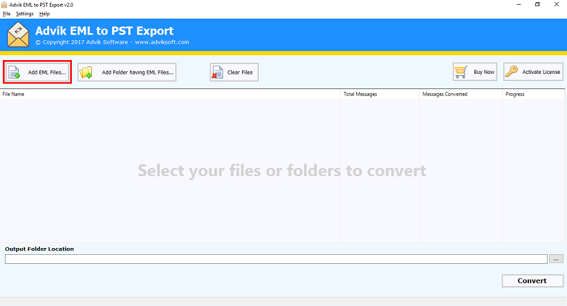 import em client emails to outlook 2016, 2019, 2013