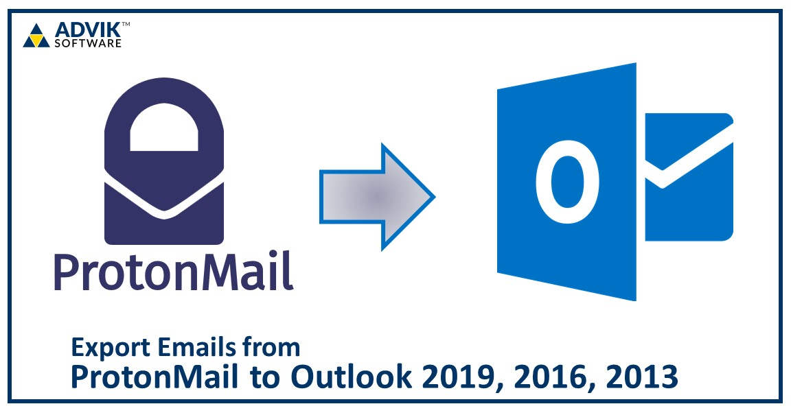 ProtonMail to Outlook 2019