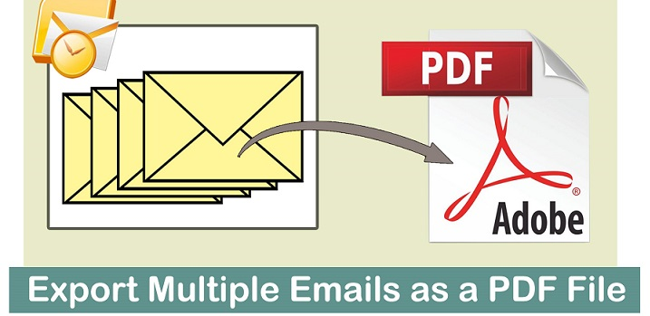 save email as pdf in outlook 2019 with attachments