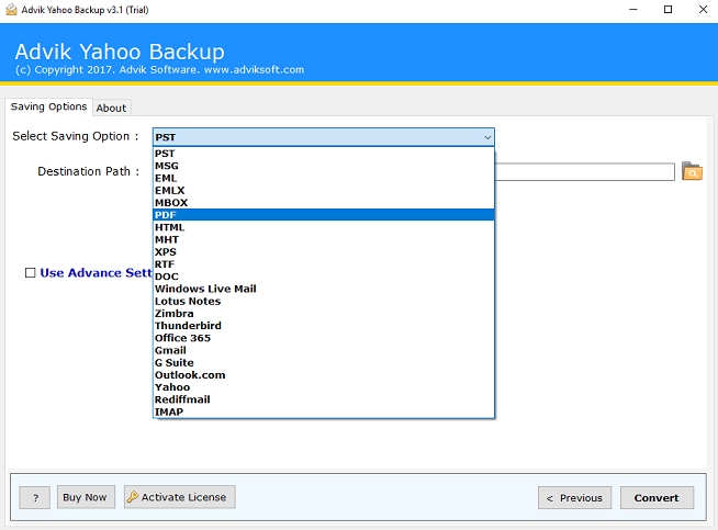 yahoo email to pdf converter