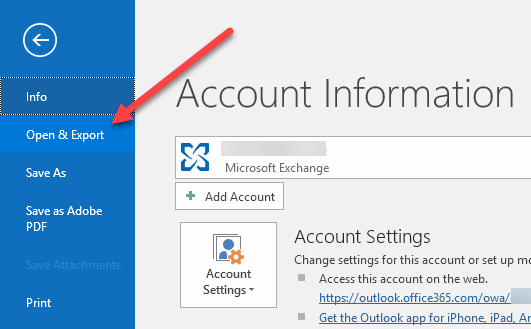 outlook emails to csv file