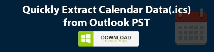 Extract Calendar Data from Outlook