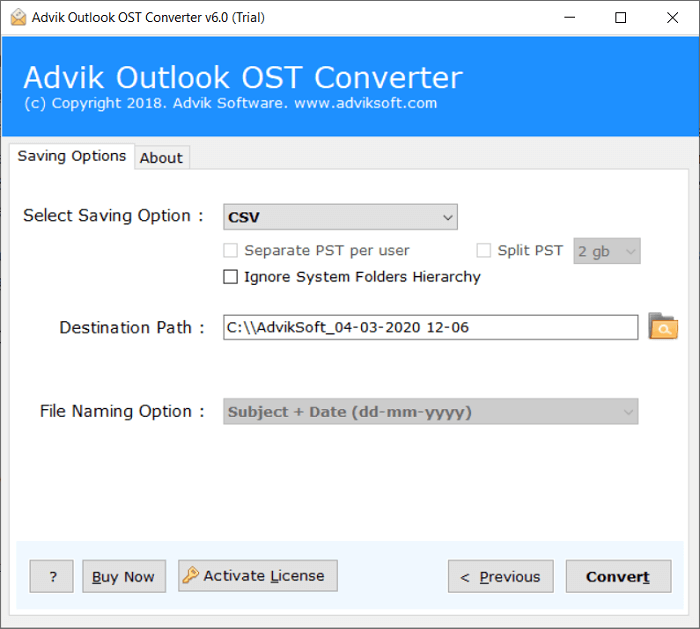 ost contacts extractor
