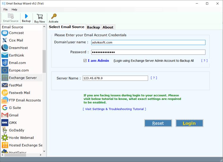 exchange mailbox backup