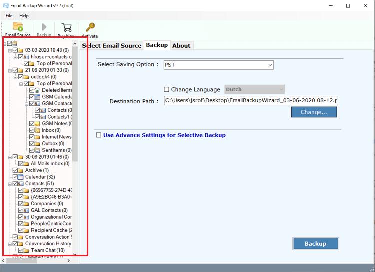 microsoft exchange mailbox software