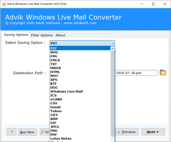migrate windows live mail to outlook