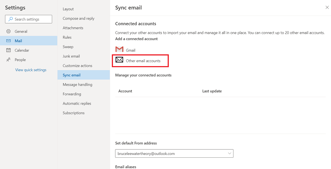 migrate from gmx mail to office 365