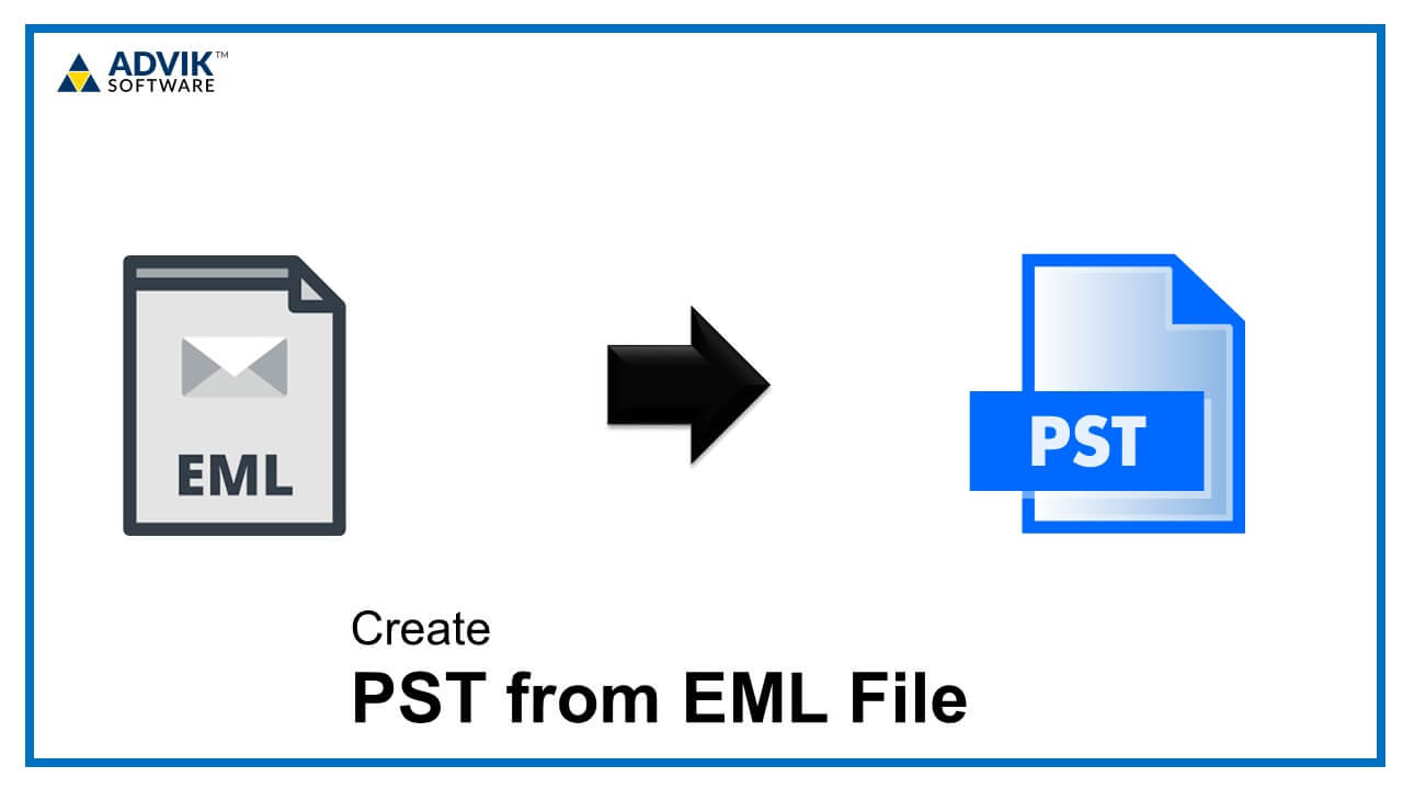 create pst from eml file