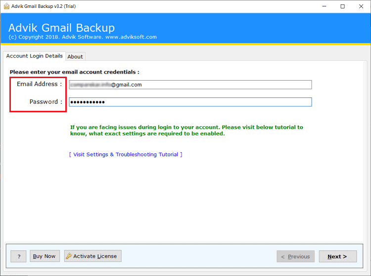 transfer selected emails from One Gmail account to Another