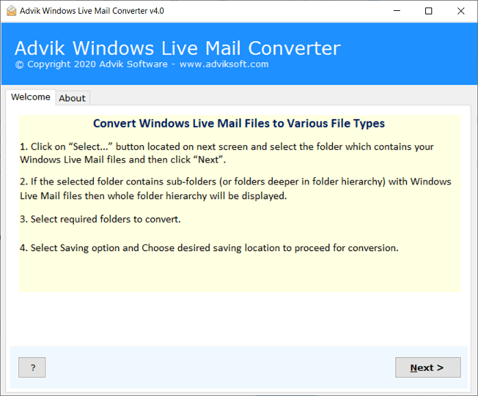 windows live mail to excel converter