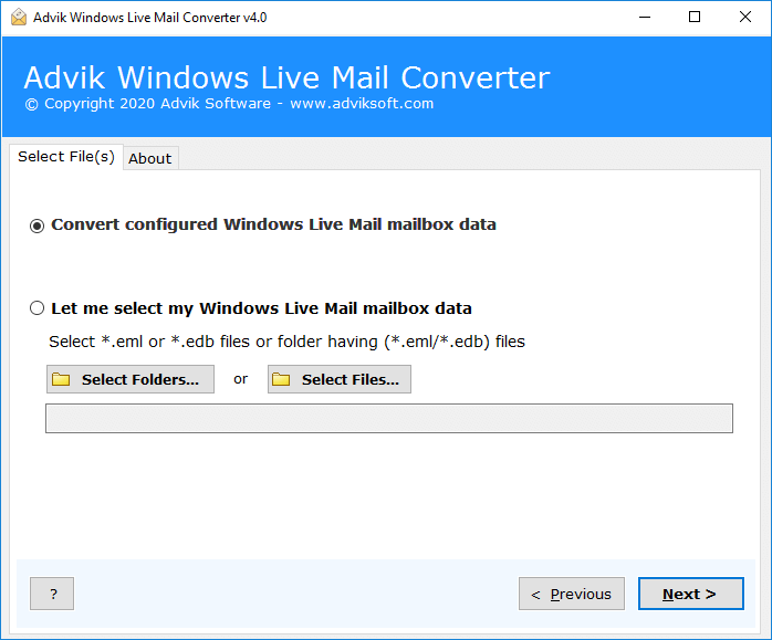 import windows live mail emails to excel