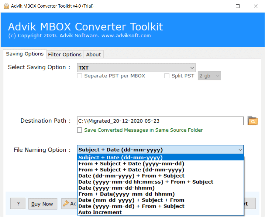 extract emails from mbox