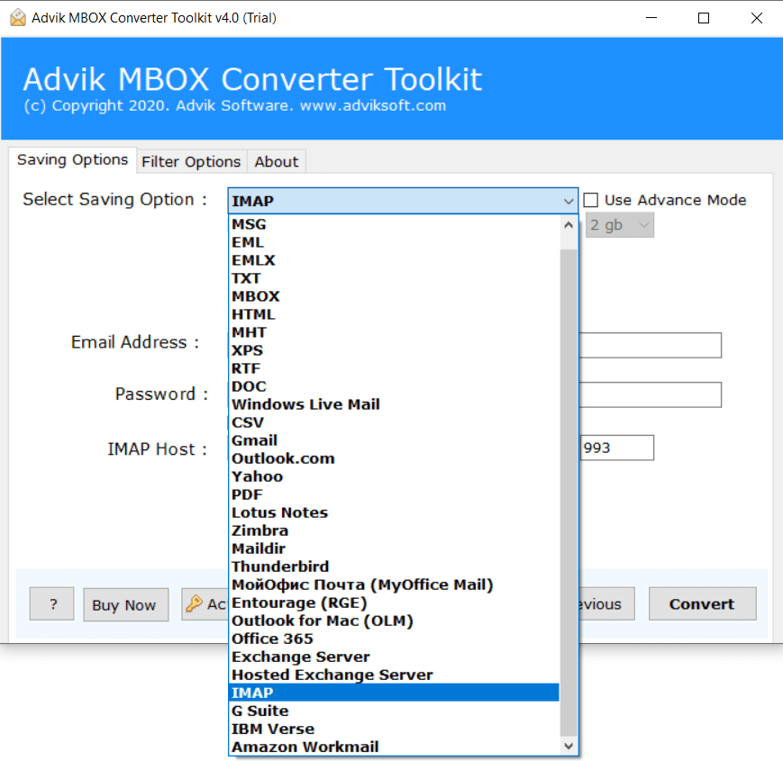 mbox to icloud converter