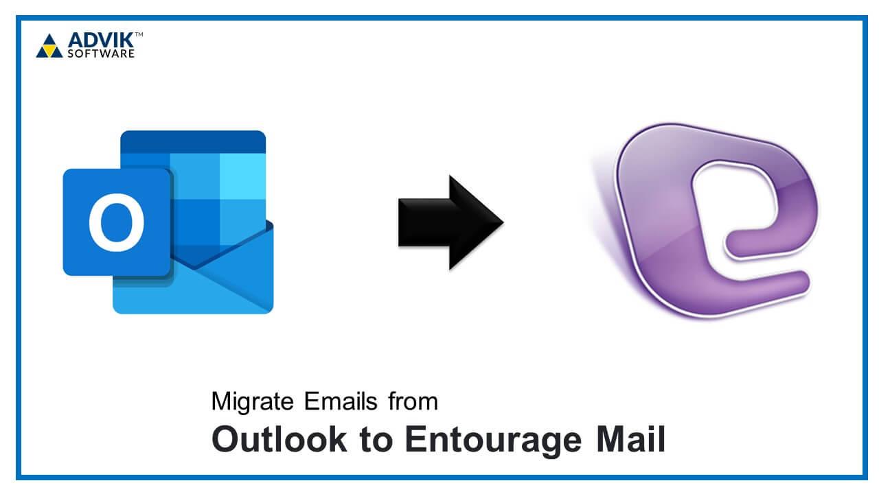 outlook to entourage