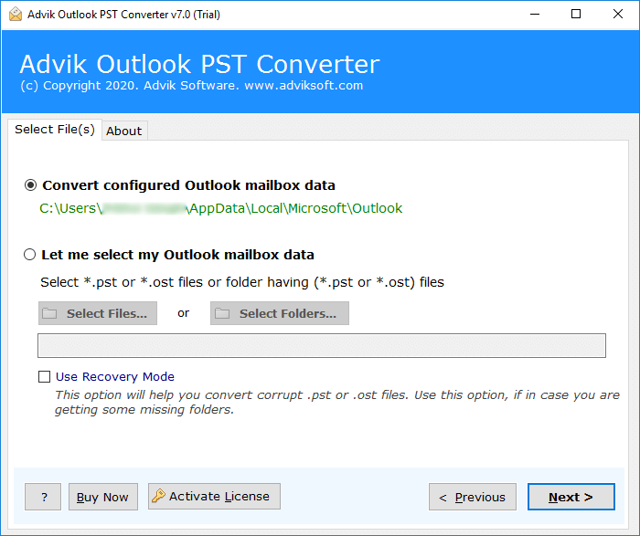 outlook to maildir