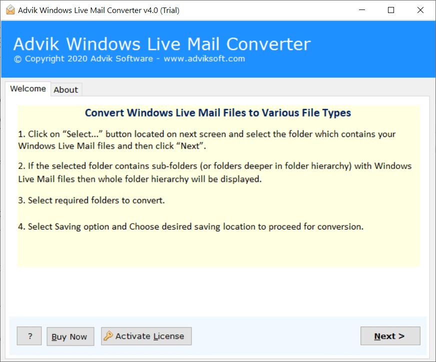 windows live mail to yahoo mail