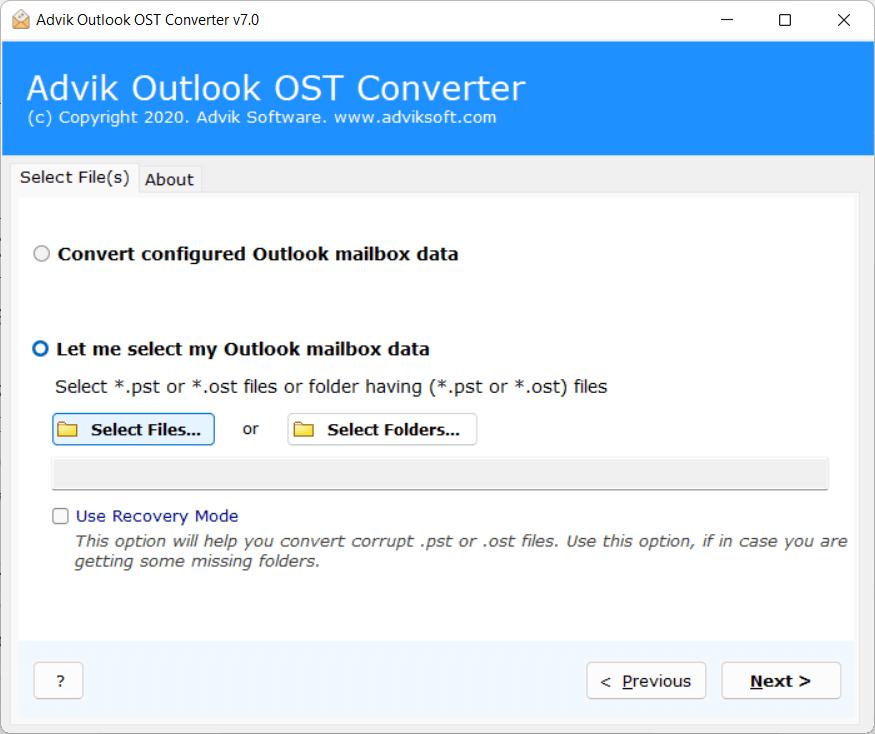 offline storage to OLM