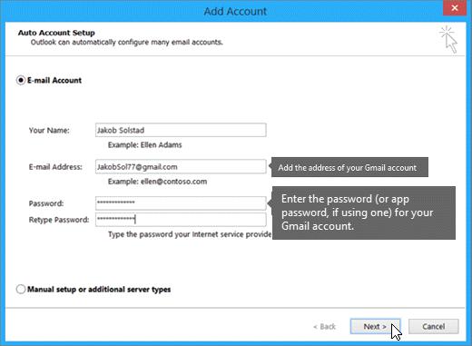 backup gmail to hard drive