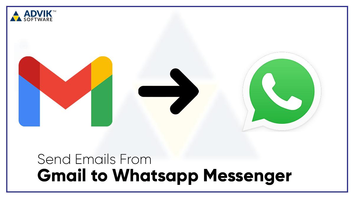 gmail to whatsapp