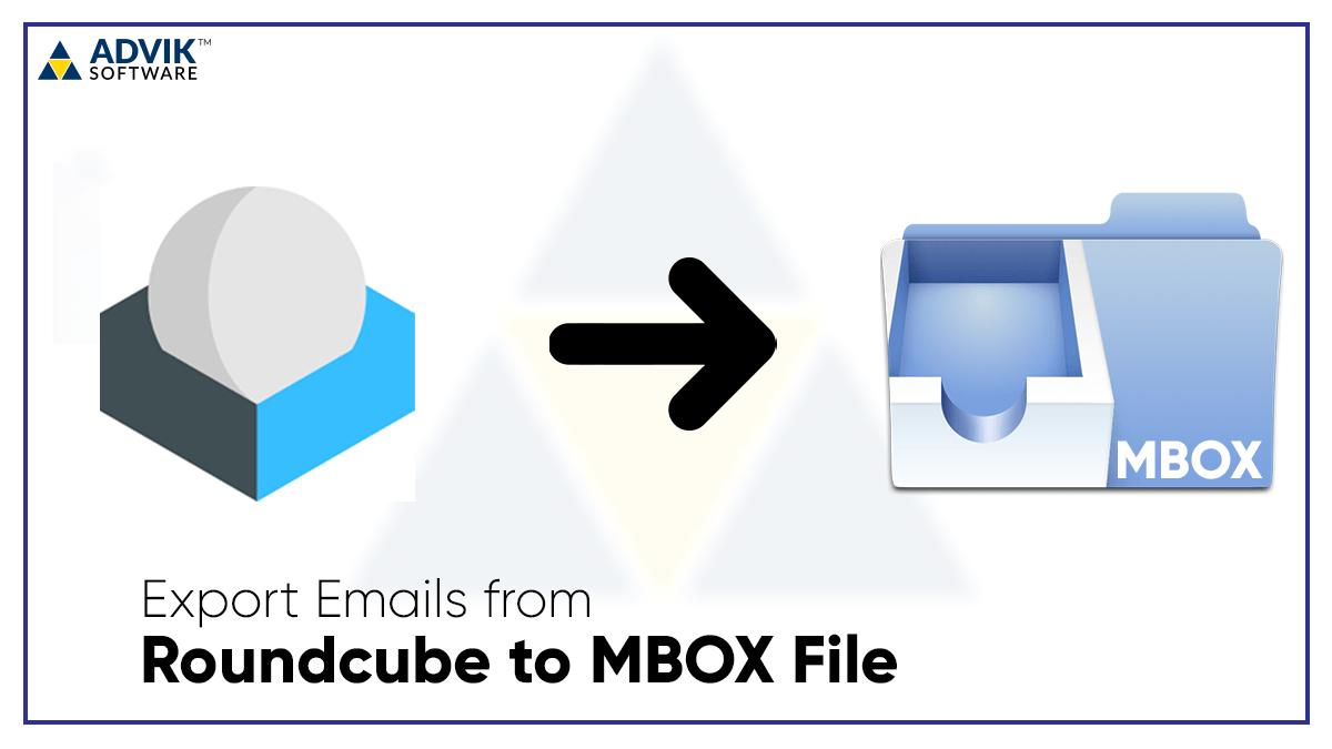 roundcube to mbox