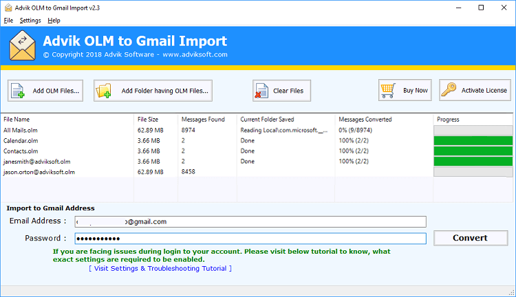olm to gmail converter