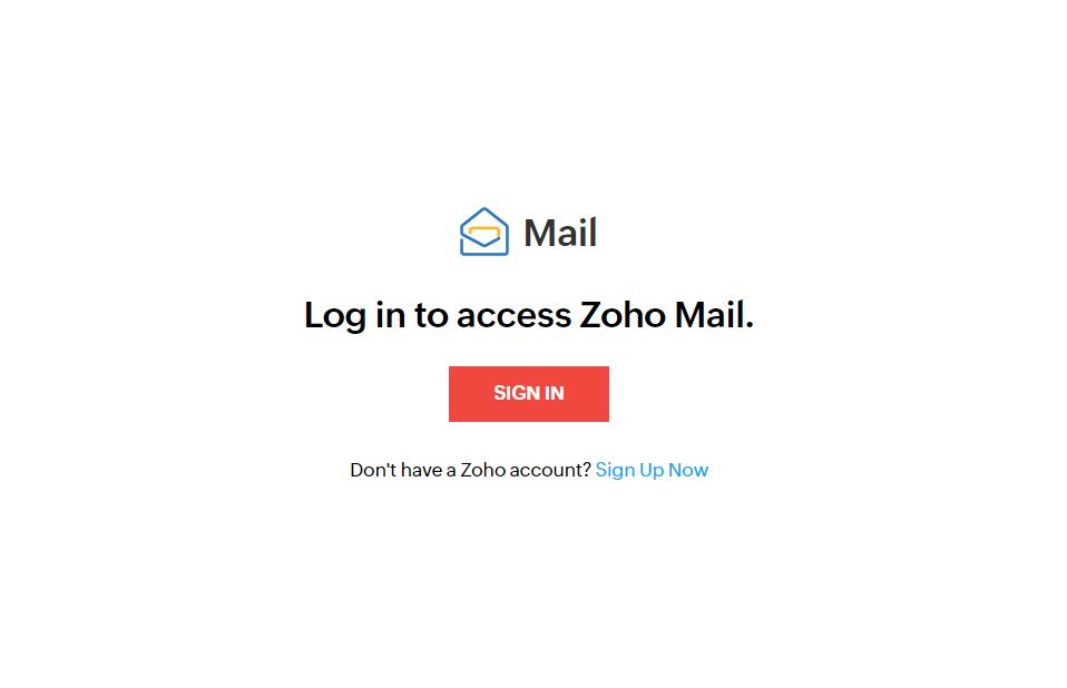 zoho settings